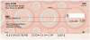 Circle Pattern Personal Checks | CCS-31