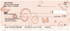 Butterfly Garden Personal Checks | CCS-46