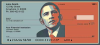 Obama Red and Blue Personal Checks | PAT-22