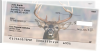 Big Horned Buck Deer Side Tear Personal Checks | STANK-71