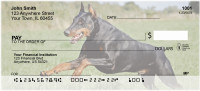 Dobermans Personal Checks | DOG-20
