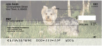 Yorkies in the Wild Personal Checks | DOG-60