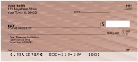 Colorful Basket Weave Personal Checks | GEP-49
