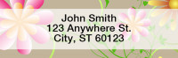 Garden Fresh Narrow Address Labels | LRGEO-20
