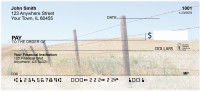 Barbed Wire Fences Personal Checks | SCE-36