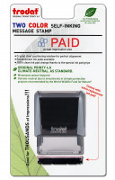 """Paid"" Message Stamp 
