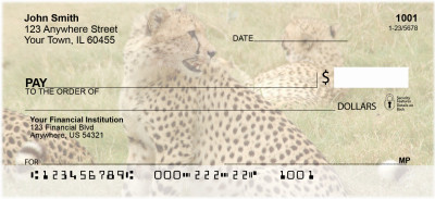 Safari Wildlife Personal Checks | ANI-03