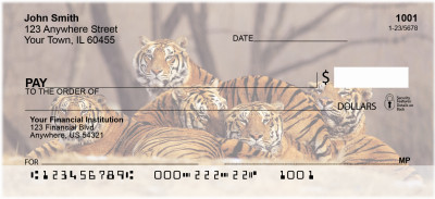 Bengal Tigers Personal Checks | ANI-46