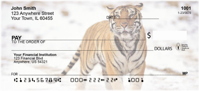 Big Cats Personal Checks | ANI-47