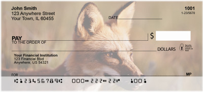 Sly as a Fox Personal Checks | ANI-75