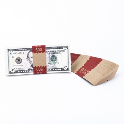 Natural Saw-Tooth $500 Currency Bands | CBKN-006