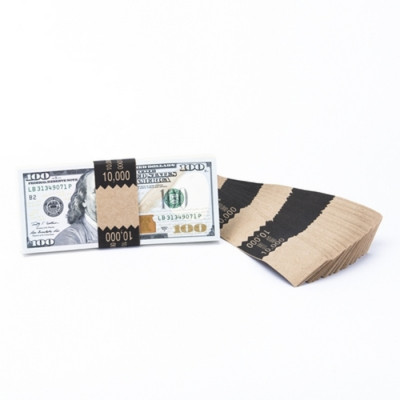 Natural Saw-Tooth $10,000 Currency Bands | CBKN-010