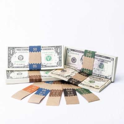 Natural Saw-Tooth Color-Coded Low Dollar Currency Band Set | CBKN-012