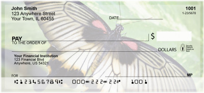 Amazing Butterflies Personal Checks | CCS-36