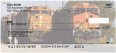 Diesel Trains Personal Checks | TRA-08