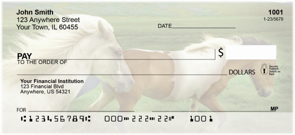 Horses Personal Checks | ANI-02