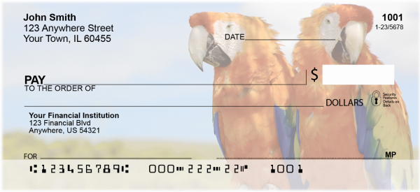 Parrots Personal Checks | ANI-41