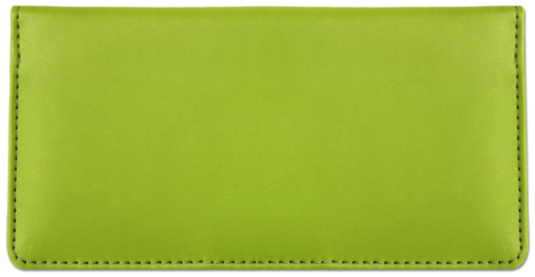 Lime Green Smooth Leather Cover | CLP-GRN02