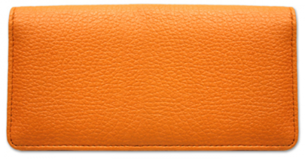 Orange Leather Cover | CLP-ORG01