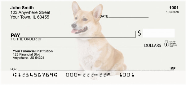 Pembroke Welsh Corgi Personal Checks | DOG-107