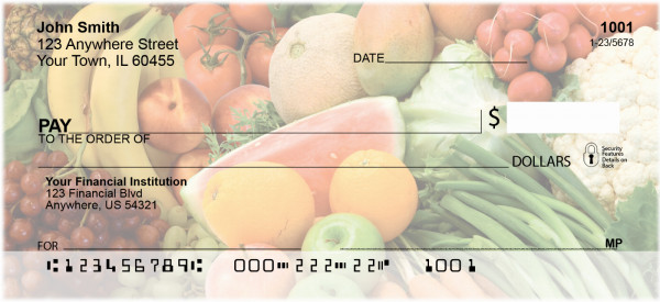 Farmers Market Personal Checks | FOD-37