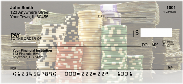 Poker Personal Checks | GME-01