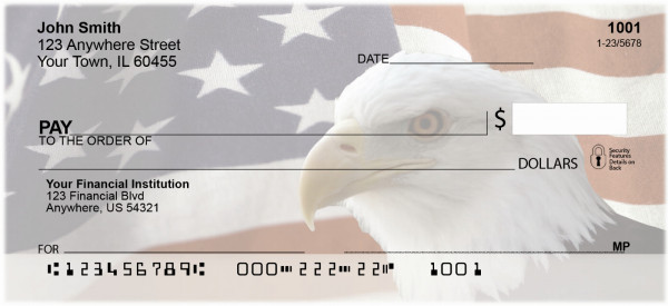 Soaring Over America Personal Checks | PAT-08