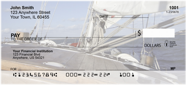 Sailing Personal Checks | SAI-01