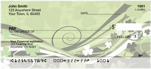 Stylistic Clovers Personal Checks | TVL-16
