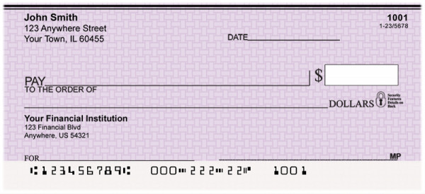Purple Safety Personal Checks | VAL-27